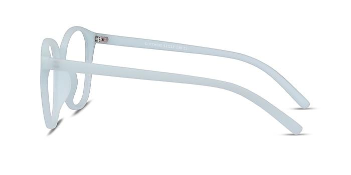 Dutchess Light Blue Plastique Montures de lunettes de vue d'EyeBuyDirect