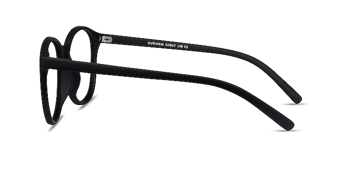 Dutchess Matte Black Plastic Eyeglass Frames from EyeBuyDirect