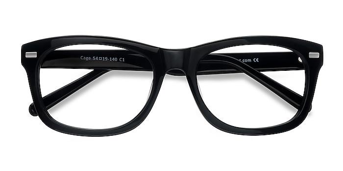 Black  Cage -  Geek Acetate Eyeglasses