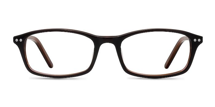 Fallon  Brown  Acetate Eyeglass Frames from EyeBuyDirect