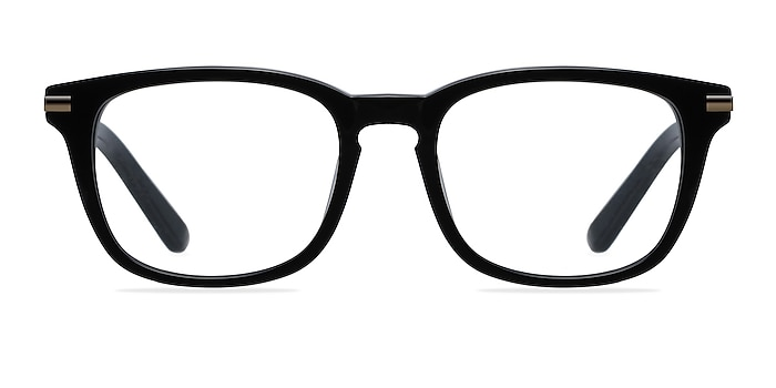 Infinity Black Acetate Eyeglass Frames from EyeBuyDirect