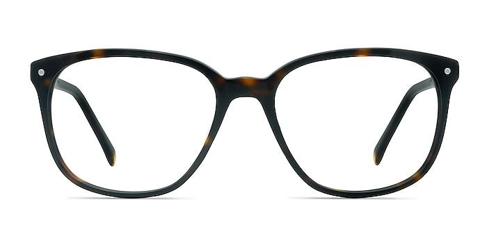 Lisbon Écaille Noire Acétate Montures de lunettes de vue d'EyeBuyDirect