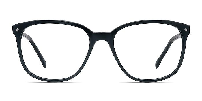 Lisbon Black Acetate Eyeglass Frames from EyeBuyDirect
