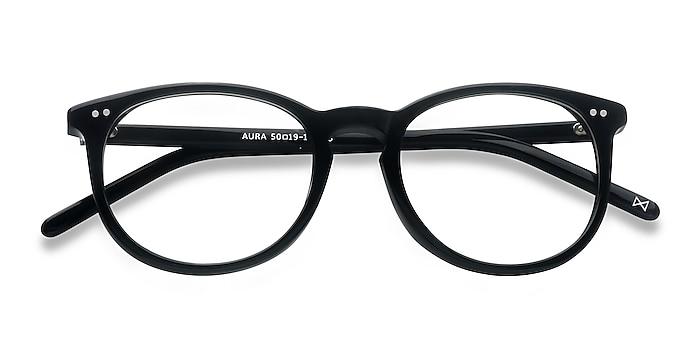 Jet Black Aura -  Geek Acétate Lunettes de vue