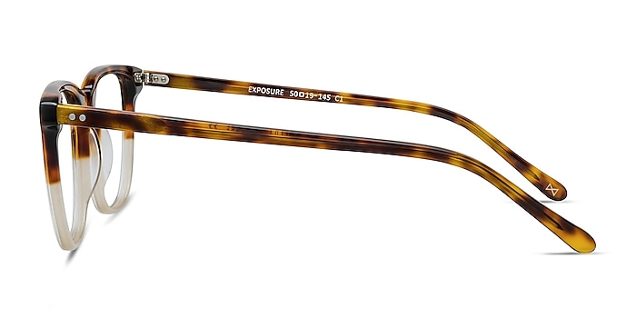 Exposure Macchiato Tortoise Acetate Eyeglass Frames from EyeBuyDirect