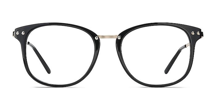 Cosmo Black Plastic-metal Eyeglass Frames from EyeBuyDirect
