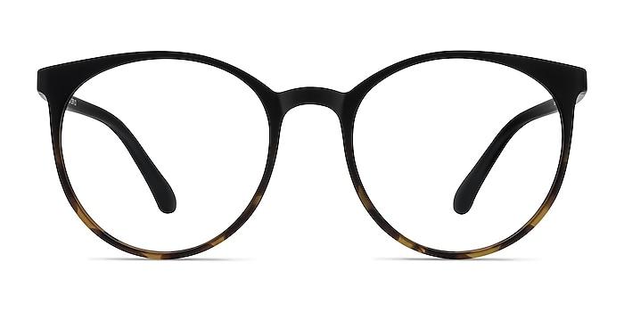Portrait Black Tortoise Plastic Eyeglass Frames from EyeBuyDirect