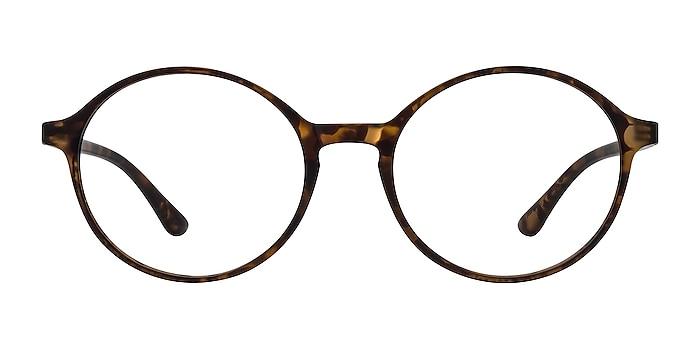 Poetic Matte tortoise Plastic Eyeglass Frames from EyeBuyDirect