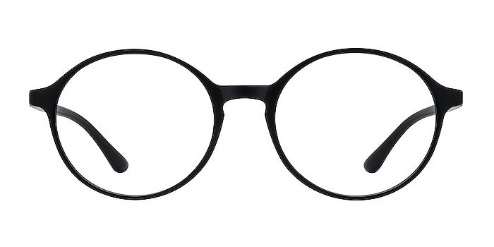 Poetic Matte Black Plastic Eyeglass Frames from EyeBuyDirect