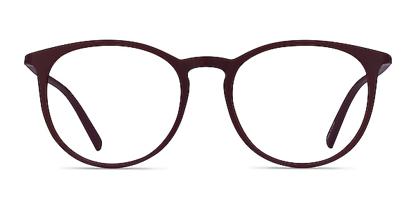 Dialogue Aubergine Plastic Eyeglass Frames