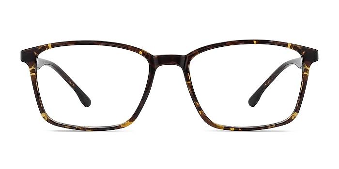 Northern Golden Tortoise Plastic Eyeglass Frames from EyeBuyDirect
