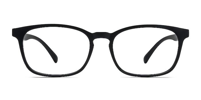 Forest Matte Black Plastique Montures de lunettes de vue d'EyeBuyDirect