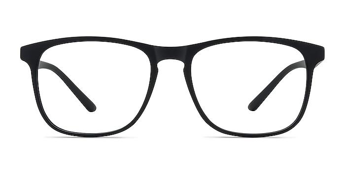 Ghent Matte Black Plastique Montures de lunettes de vue d'EyeBuyDirect