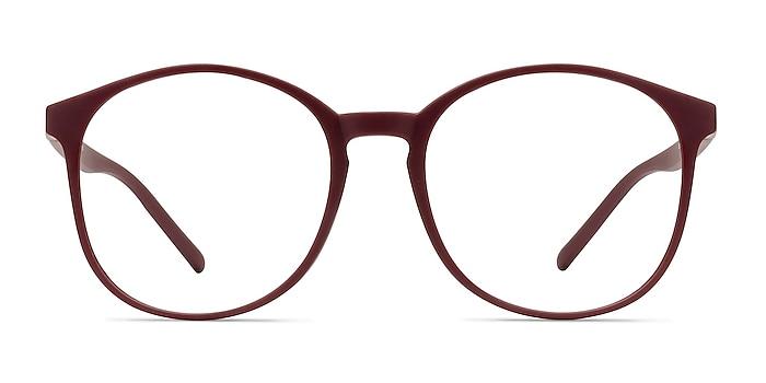 Days Matte Red Plastic Eyeglass Frames from EyeBuyDirect