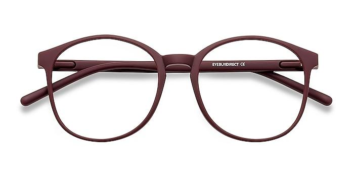 Matte Red Days -  Lightweight Plastic Eyeglasses