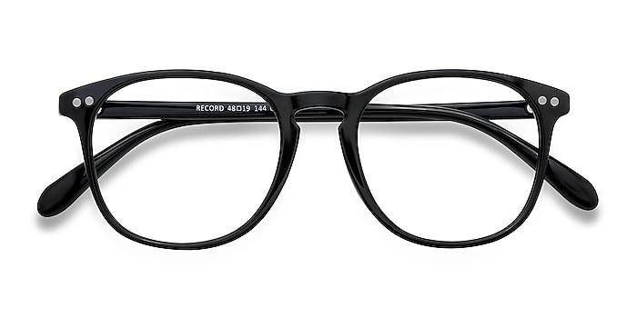 Black Record -  Plastic Eyeglasses