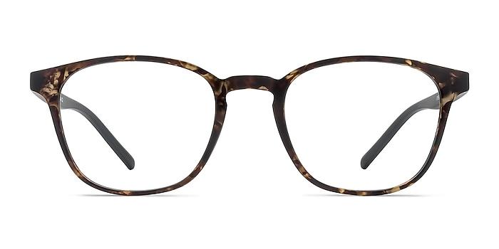 Saunter Swirled Amber Plastic Eyeglass Frames from EyeBuyDirect