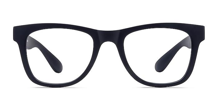 Project Matte Navy Plastic Eyeglass Frames from EyeBuyDirect