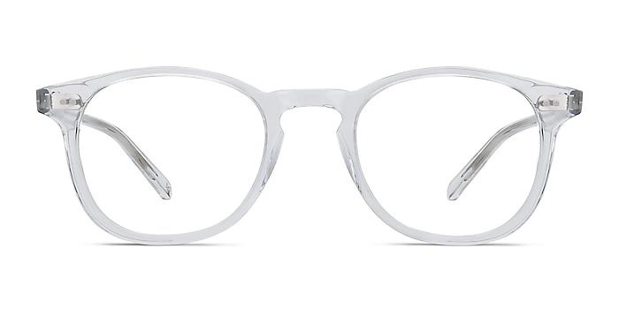 Symmetry Translucent Acetate Eyeglass Frames from EyeBuyDirect