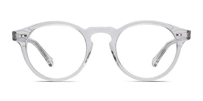 Theory Clear Acetate Eyeglass Frames from EyeBuyDirect