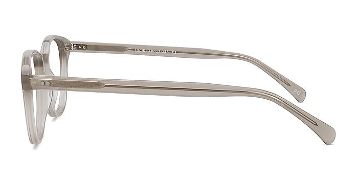 Lucid Clear Gray Acetate Eyeglass Frames from EyeBuyDirect