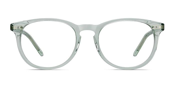 Aura Clear Jade Acétate Montures de lunettes de vue d'EyeBuyDirect