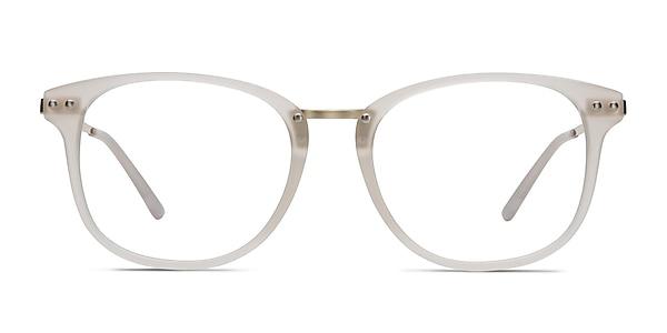 Cosmo White Plastic-metal Eyeglass Frames