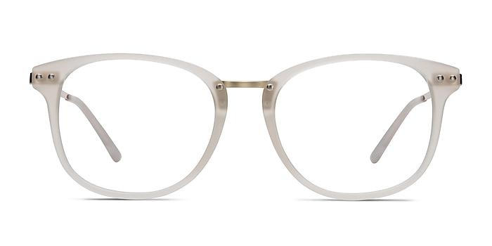 Cosmo White Plastic-metal Eyeglass Frames from EyeBuyDirect