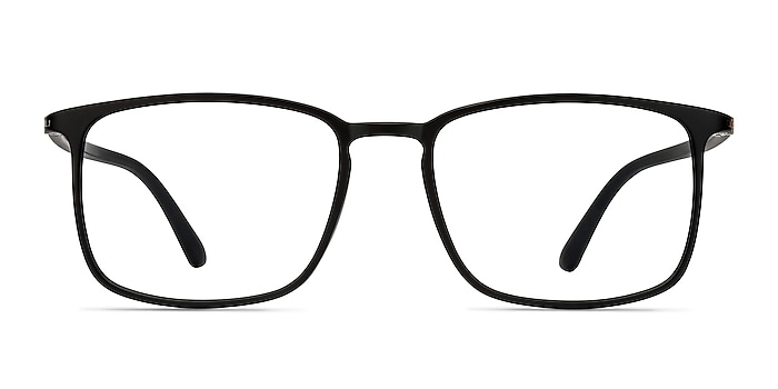 Structure Black Plastic Eyeglass Frames from EyeBuyDirect
