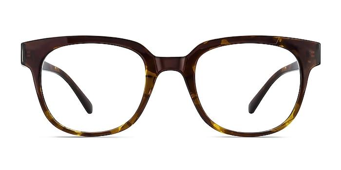 Flashback Honey Tortoise Plastic Eyeglass Frames from EyeBuyDirect