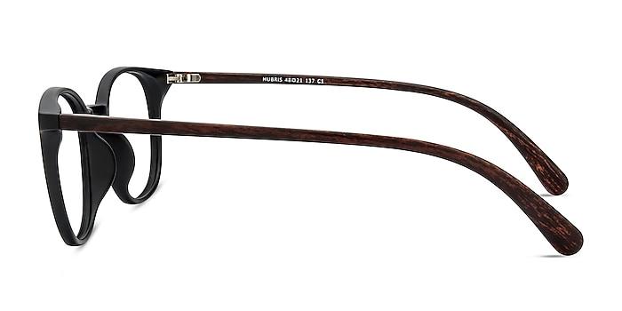 Hubris Matte Black Plastic Eyeglass Frames from EyeBuyDirect
