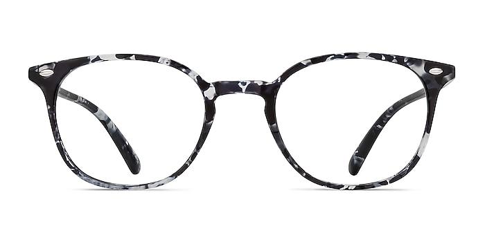 Hubris Black Floral Plastic Eyeglass Frames from EyeBuyDirect