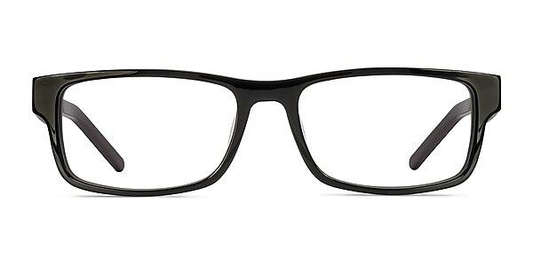 Aidan Black Acetate Eyeglass Frames