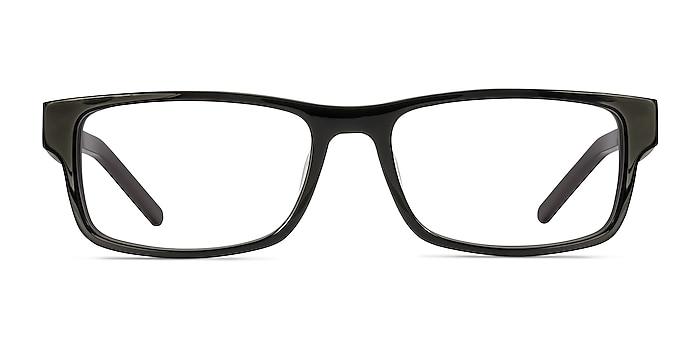 Aidan Noir Acétate Montures de lunettes de vue d'EyeBuyDirect