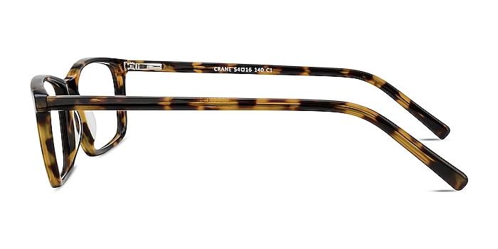 Crane Tortoise Acetate Eyeglass Frames from EyeBuyDirect