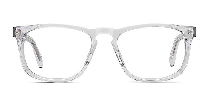 Rhode Island Clear Acetate Eyeglass Frames from EyeBuyDirect