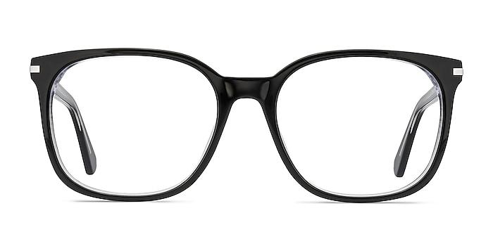 Absolutely Black Acetate Eyeglass Frames from EyeBuyDirect