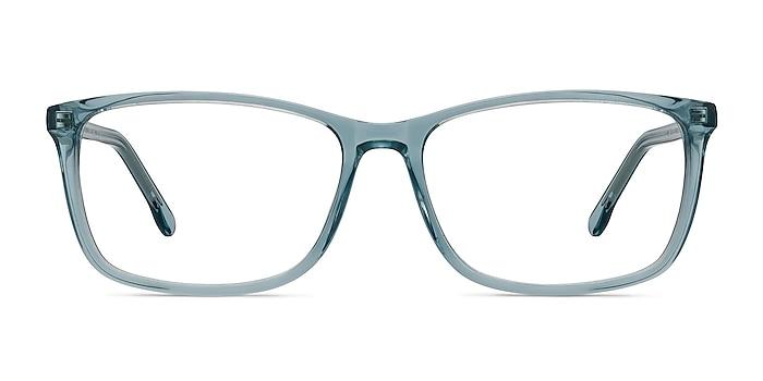 Constellation Clear Blue Acetate Eyeglass Frames from EyeBuyDirect