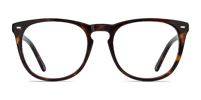 Divina Tortoise Acetate Eyeglass Frames from EyeBuyDirect