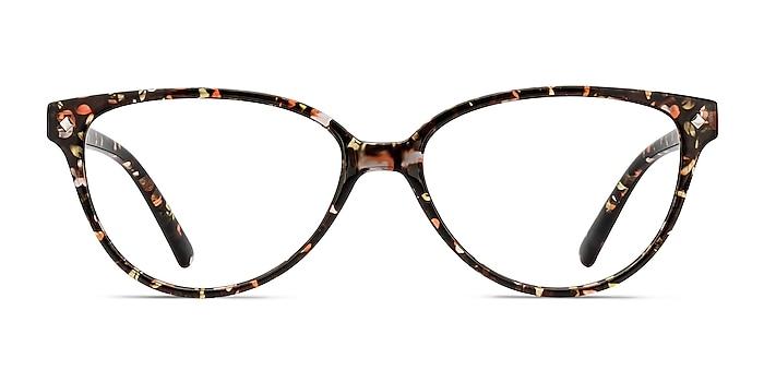 Dame Floral Plastic Eyeglass Frames from EyeBuyDirect