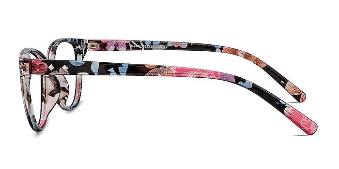 Dame Pink Floral Plastique Montures de lunettes de vue d'EyeBuyDirect