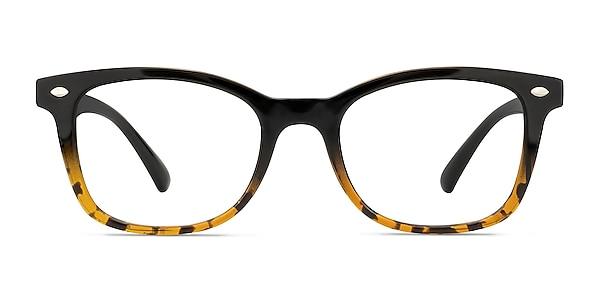 Drama Black Brown Plastic Eyeglass Frames