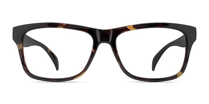Gamble Tortoise Plastic Eyeglass Frames from EyeBuyDirect