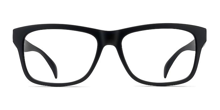 Gamble Matte Black Plastic Eyeglass Frames from EyeBuyDirect