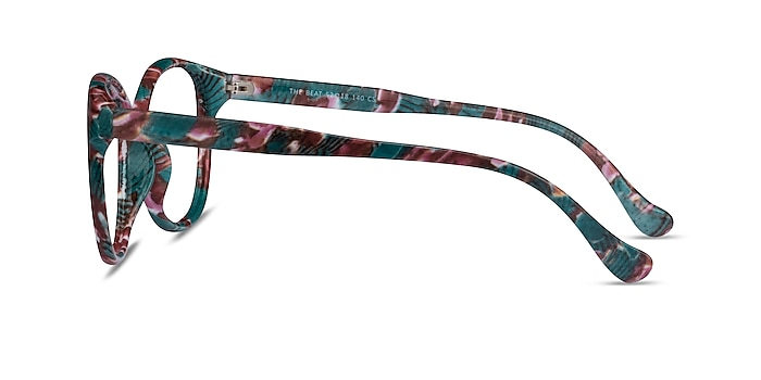 The Beat Floral Plastic Eyeglass Frames from EyeBuyDirect