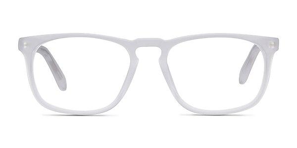 Rhode Island Matte Clear Acetate Eyeglass Frames