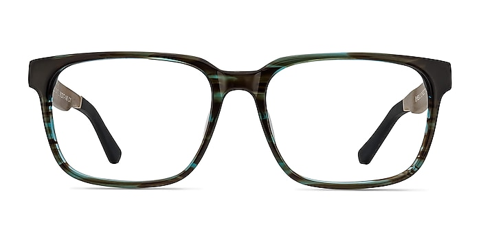 Belmont Coffee Acetate Eyeglass Frames from EyeBuyDirect