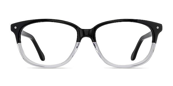Escape Clear Black Acetate Eyeglass Frames