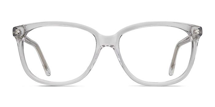 Escape Clear Acetate Eyeglass Frames from EyeBuyDirect