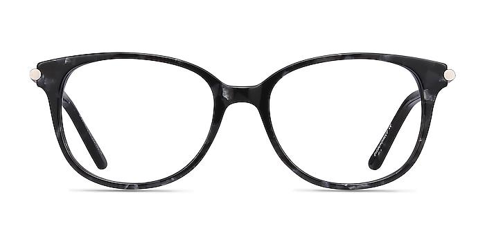 Jasmine Gray Floral Acétate Montures de lunettes de vue d'EyeBuyDirect